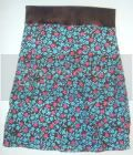 Chocolate and Flowers - Mama Skirt - Shipping included!