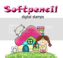 Soft Pencil Digi Stamps