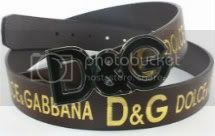 I got my Dolce &amp; Gabbana belt